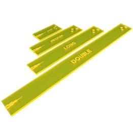 Gaslands: Shooting Gauges Set, Fluorescent Yellow (4)