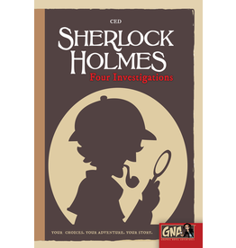 Graphic Novel Adventure Sherlock Holmes Four Investigations