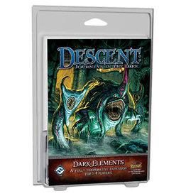 """Fantasy Flight Games Descent 2nd: Journeys in the Dark """"DARK ELEMENTS"""" EXPANSION"""
