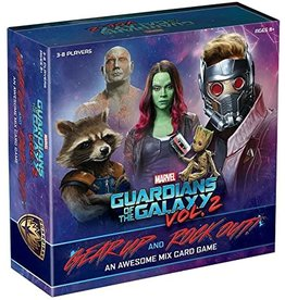 Usaopoly Guardians of the Galaxy Volume 2: Gear Up and Rock Out An Awesome Mix Card Game
