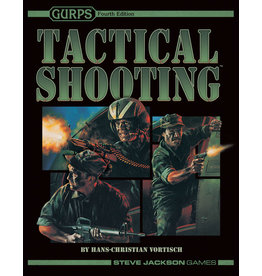 Steve Jackson Games Gurps: 4th Edition Tactical Shooting (Softcover)