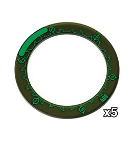 """Privateer Press Hordes 3"""" Ring Markers"""