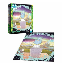 Usaopoly RICK AND MORTY: Shy Pooper Puzzle