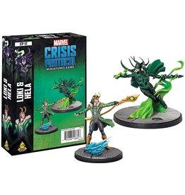 Marvel Crisis Protocol - Loki and Hela