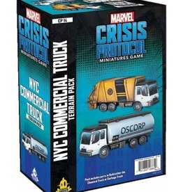 Asmodee Editions Marvel: Crisis Protocol - NYC Commercial Truck Terrain Pack