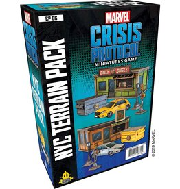 Asmodee Editions Marvel: Crisis Protocol - NYC Terrain Pack