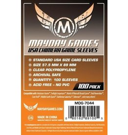 Mayday Games MG Chimera Standard USA Sleeves (100) *Orange*