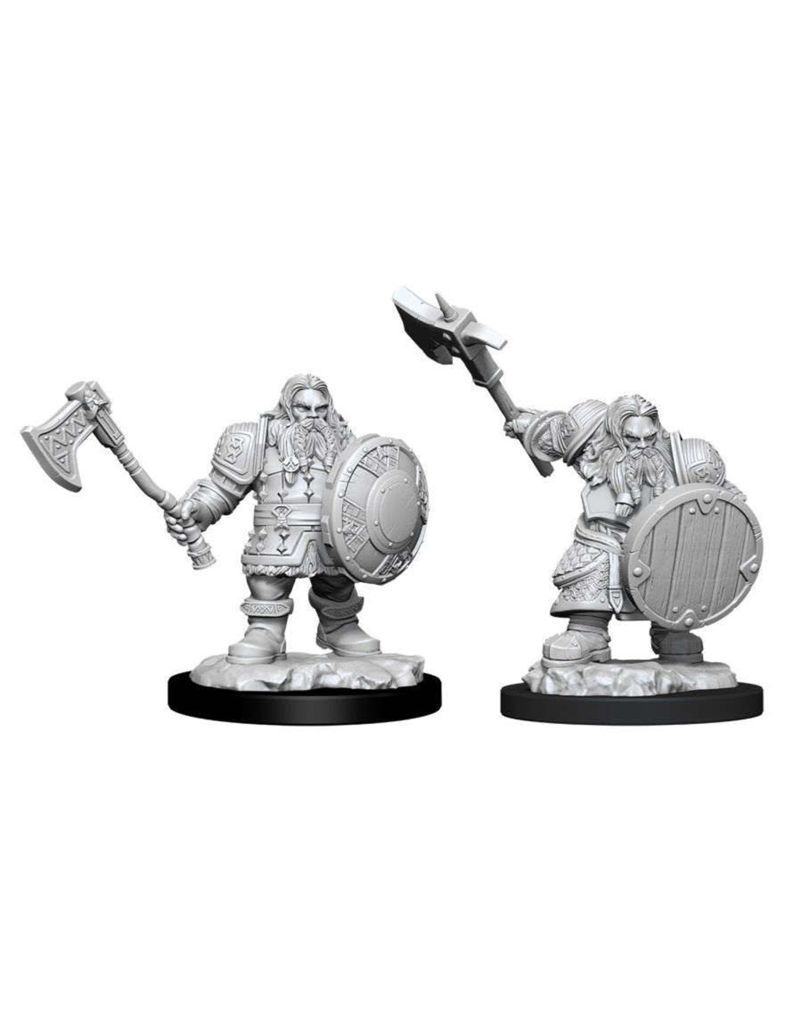 Wizkids Nolzur's Minis: W11 Male Dwarf Fighter