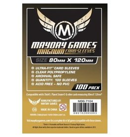 Mayday Games MG Magnum Ultra-fit Sleeves (100) *Orange*