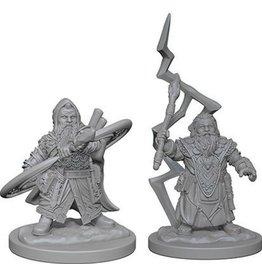 Wizkids PF Deep Cuts Minis Dwarf Male Sorcerer