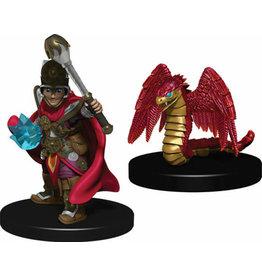 Wizkids Wardlings Minis Boy Cleric & Winged Snake