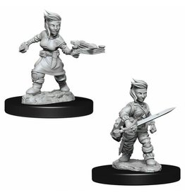 Wizkids PF Deep Cuts Minis Female Halfling Rogue