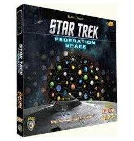 Mayfair Games Star Trek Catan Federation Map