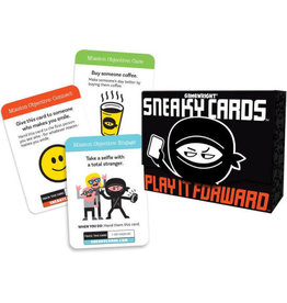 Game Wright Sneaky Cards: Play it Forward