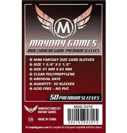 Mayday Games MG Mini Premium Chimera Sleeves (50) *Dark Red*