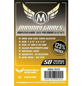 Mayday Games MG Mini USA Premium Sleeves *Yellow*