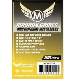 Mayday Games MG Mini USA Sleeves (100) *Yellow*