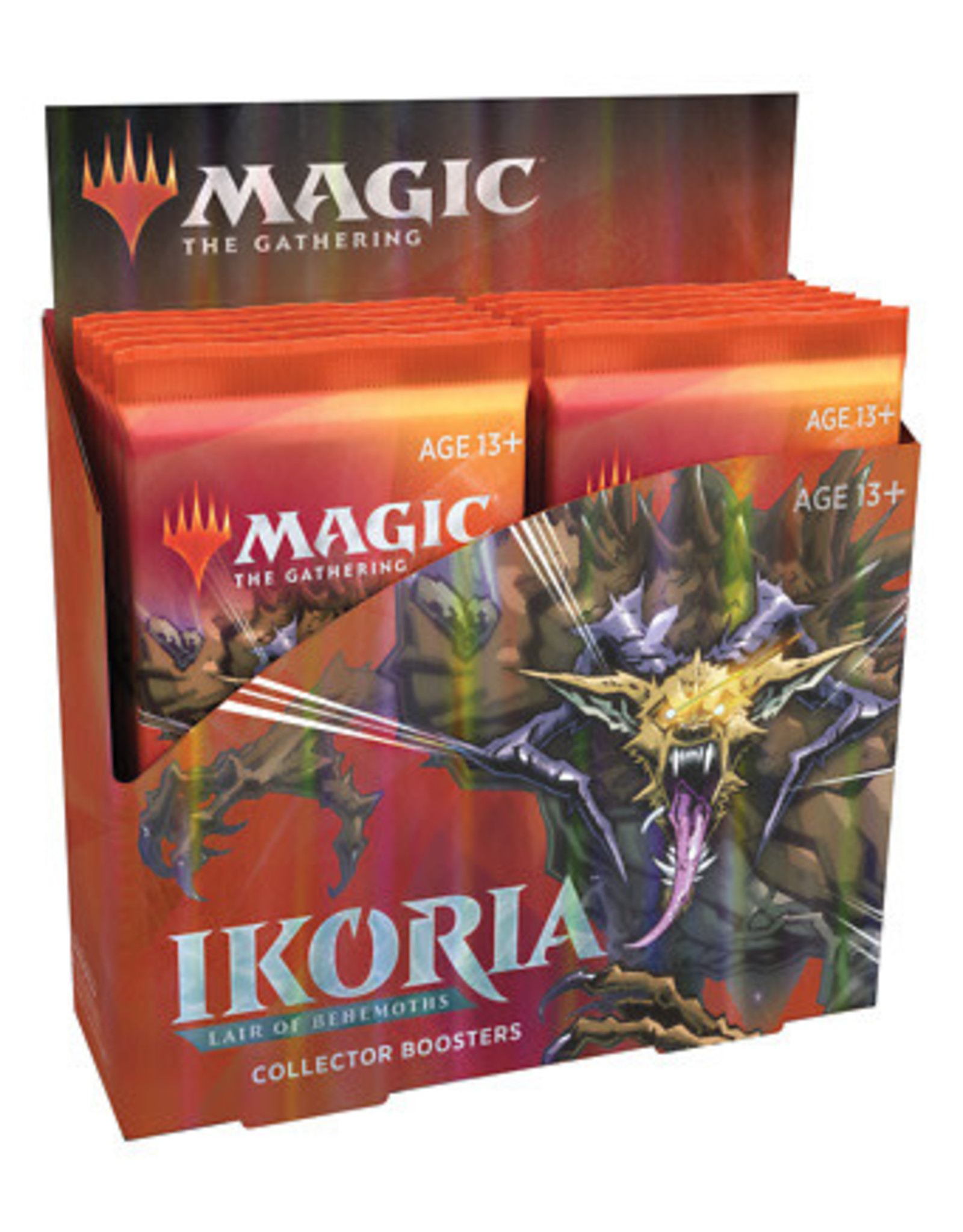 Wizards of the Coast MTG Ikoria Collector's Booster Box