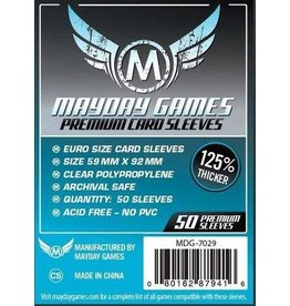 Mayday Games MG Premium Mini Euro Sleeves (50) *Dark Blue*