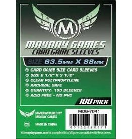Mayday Games MG Standard Card Game Sleeves (100) Green