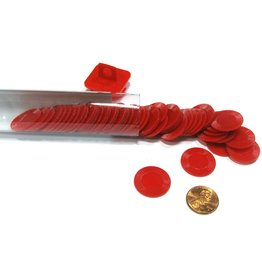 Koplow Games Mini Poker Chip Tube - Red (50)