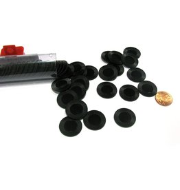 Koplow Games Mini Poker Chip Tube - Black (50)