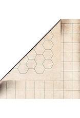 "Chessex Mondomat 102x54  1"" hex/squares"