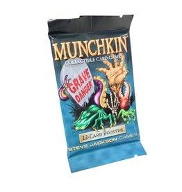"""Steve Jackson Games Munchkin CCG """"Grave Danger"""" Booster Pack"""