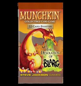 Steve Jackson Games Munchkin CCG: The Desolation of Blarg Booster Pack