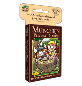 Steve Jackson Games Munchkin Playing Cards