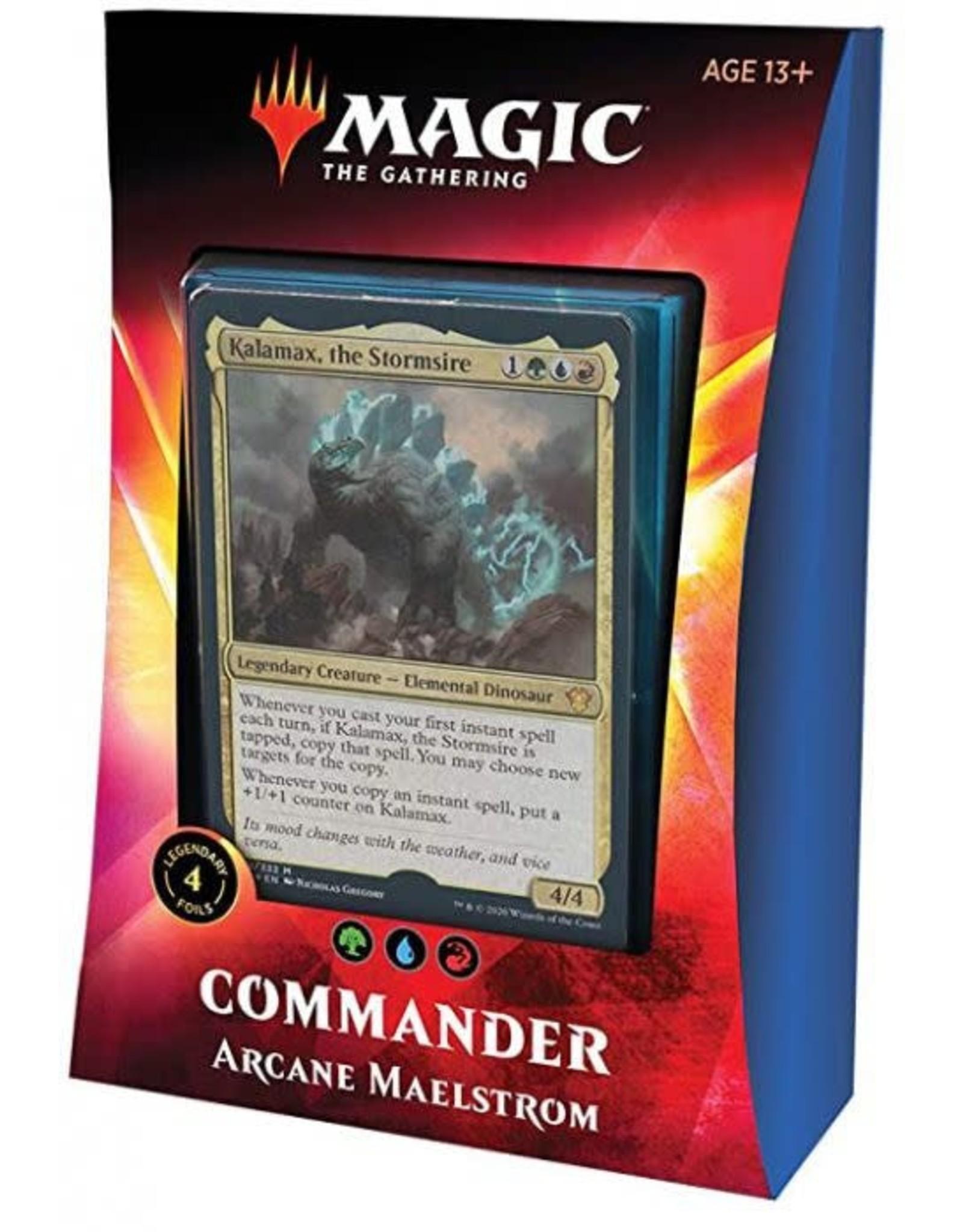 Wizards of the Coast Commander Deck 2020 Arcane Maelstrom
