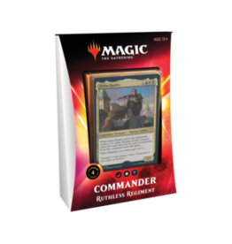 Wizards of the Coast Commander Deck 2020 Ruthless Regiment