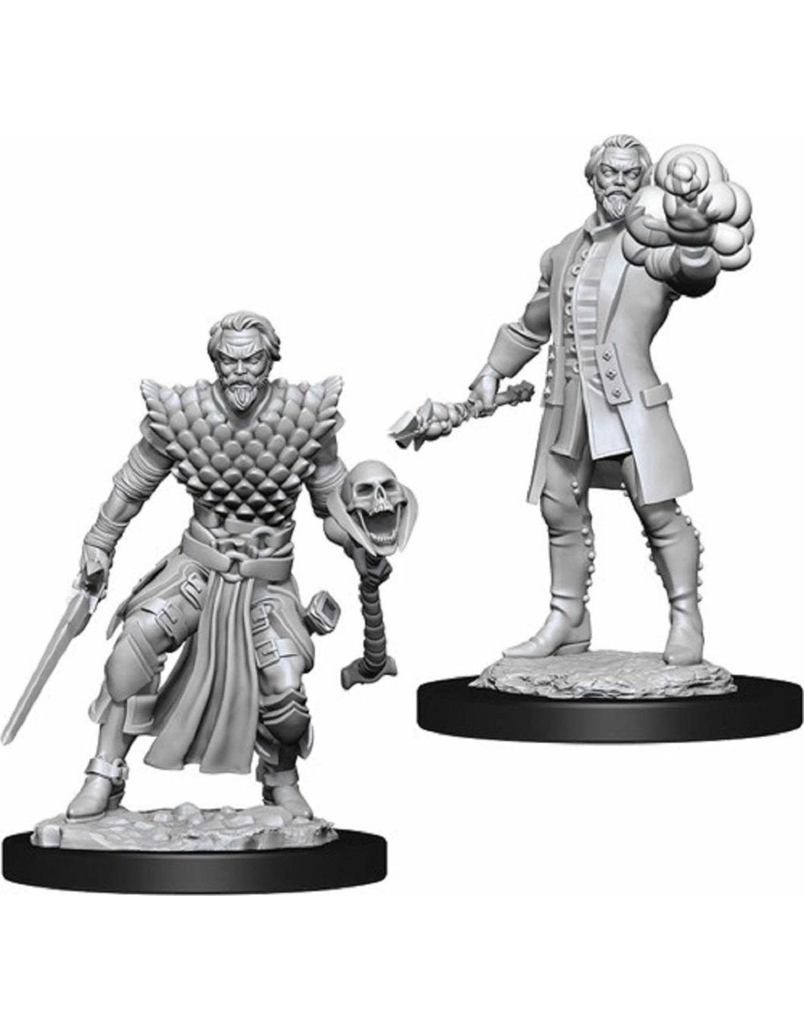 Wizkids Dungeons & Dragons Nolzur's Marvelous Unpainted Miniatures: W10 Male Human Warlock