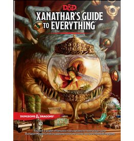 Wizards of the Coast D&D 5E: Xanathar's Guide to Everything