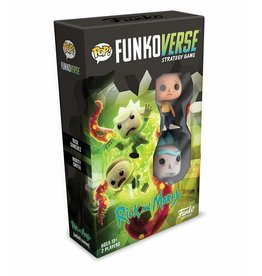 Funko Funkoverse Strategy Game: Rick & Morty