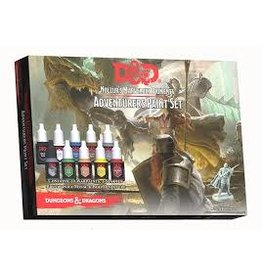 Army Painter Dungeons & Dragons Nolzur`s Marvelous Pigments: Adventurers Paint Set