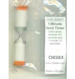 Chessex One Minute Sand Game Timer