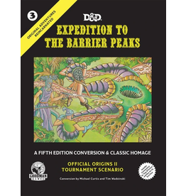 Goodman Games Original Adventures Reincarnated #3: Expedition to the Barrier Peaks