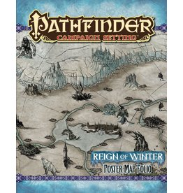 Paizo Pathfinder Campaign Setting Map Folio: Reign of Winter Poster
