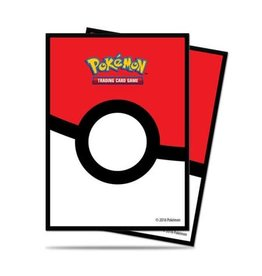 Ultra Pro Pokemon CCG: Pokeball Deck Protectors (65)