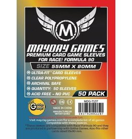 Mayday Games Premium Card Sleeves 55mm x 80mm