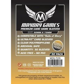 Mayday Games Premium Custom Card Sleeves (50 X 75 MM) (50)