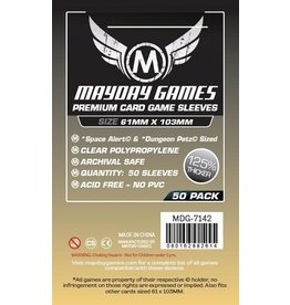 Mayday Games Premium Magnum Space Sleeves 61mm X 103mm (50)