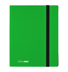 Ultra Pro Pro Binder Eclipse Lime Green