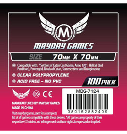 Mayday Games Small Square Card Sleeves (70X70) (100)