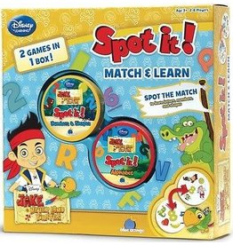 Blue Orange Spot It! Jake and Pirates Match & Learn