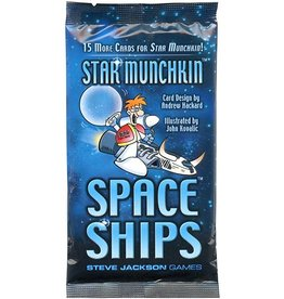 Steve Jackson Games Star Munchkin: Space Ships Booster Pack