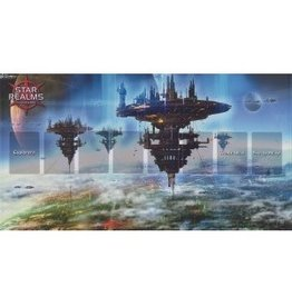 White Wizard Games Star Realms Capital World Playmat