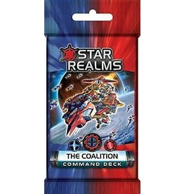 White Wizard Games Star Realms: Command Deck - The Coalition