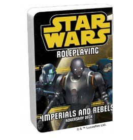 Fantasy Flight Games Star Wars RPG: Adversary Deck - Imperials and Rebels III Deck